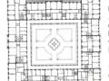 1873 Plan für Bebauung Zentralhof