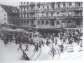 um 1930 Stossverkehr am Paradeplatz