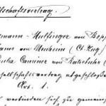 Gesellschaftsvertrag von 1882