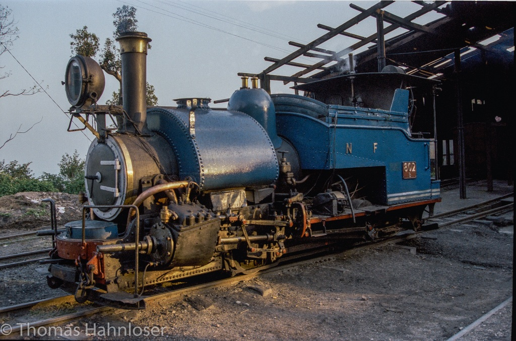 Darjeeling Toy Train 1985