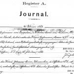 Handelsregister 1883 bis 1948