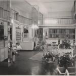 Ansichten der Verkaufsräume von 1950 bis 1999