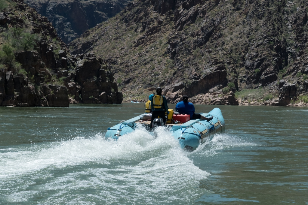 River Rafting on the Colorado