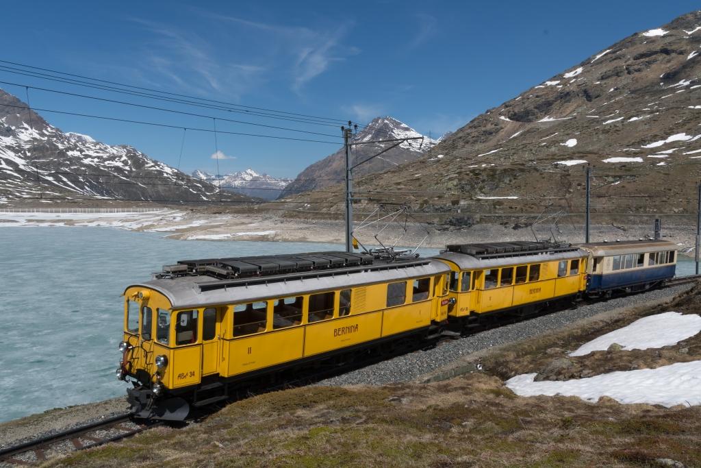 Im Salonwagen über die Bernina