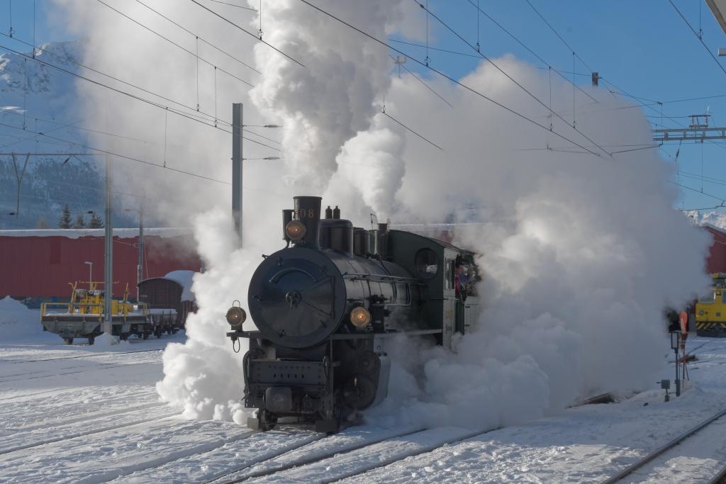 Engadiner Dampffahrt 4.2.2018