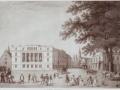 1838 Hotel Baur, rechts Tiefenhoflinde - heute Sprüngli