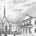 Bauliche Entwicklung der Poststrasse und Umgebung