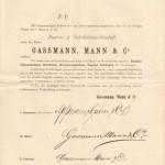 Bekanntmachung Gründung 1. März 1882