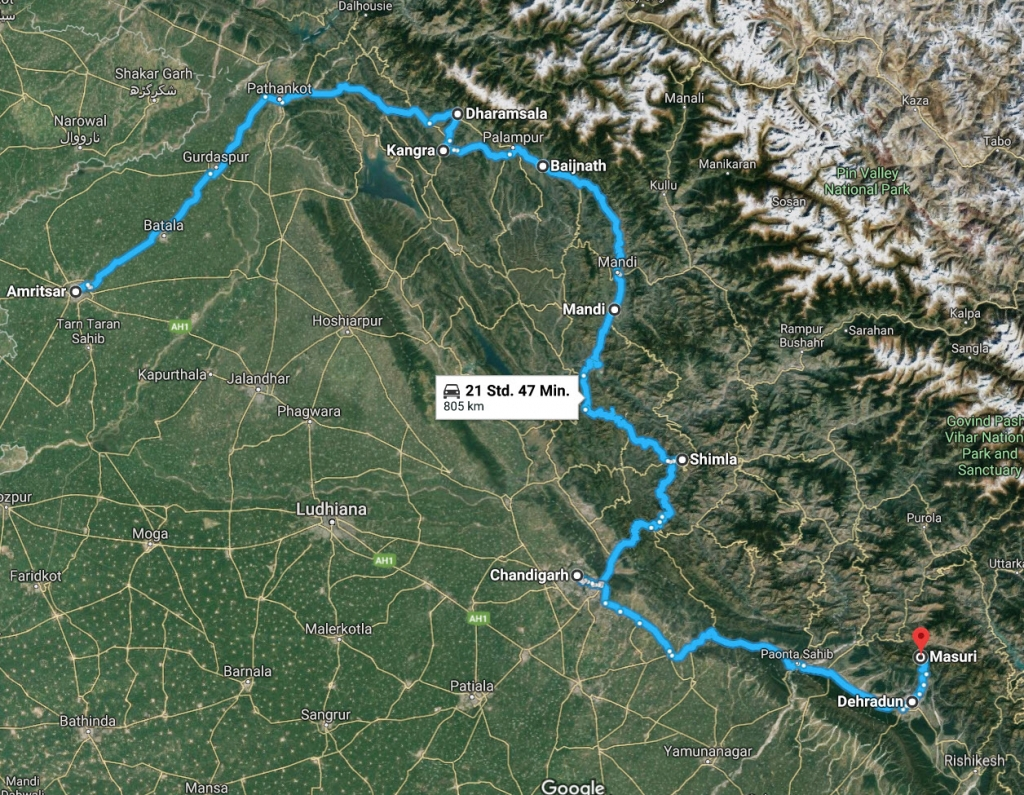 Amritsar and the Western Foothills
